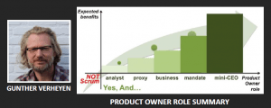 Gunther Verheyen - Product Owner Role Summary