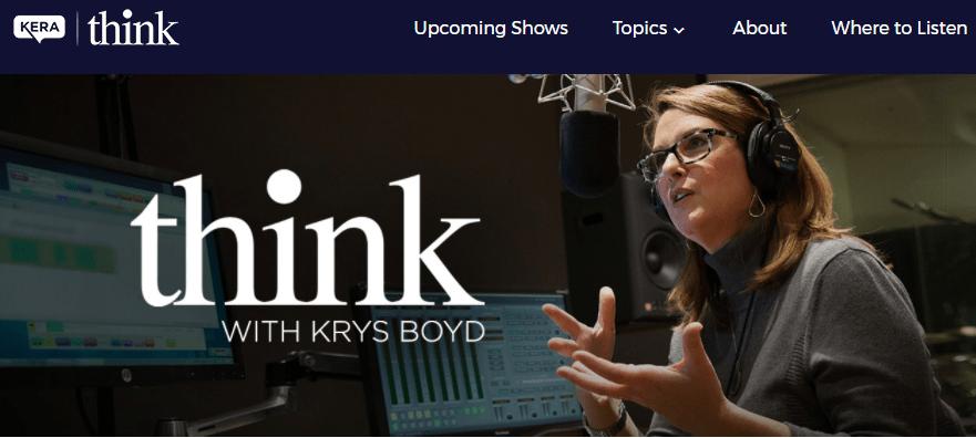 Think With Kris Boyd, KERA